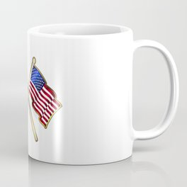 Old Glory Pin Padge Coffee Mug
