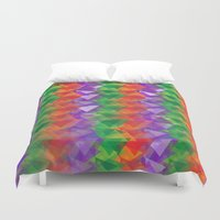 candy Duvet Covers featuring Candy  by Watch House Design