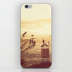 La Barra Sunset iPhone & iPod Skin