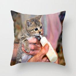 slurp Throw Pillow