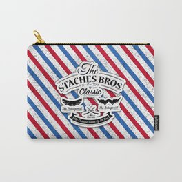 The Staches Bros Carry-All Pouch