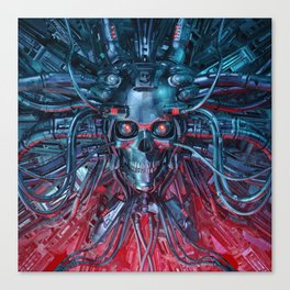 Heavy Metal Mind Canvas Print