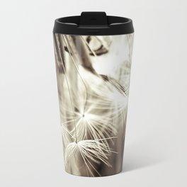 Dandelion seeds Travel Mug
