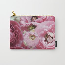 Bloom Sweetly - Rose Pink Carry-All Pouch