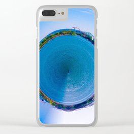 Montreal City litlle planet Clear iPhone Case