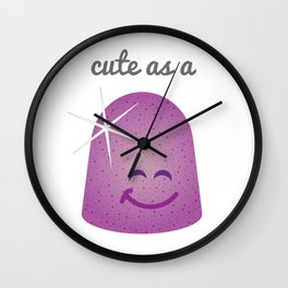 Cute as a Gumdrop Wall Clock