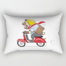 MOTOO at Work Rectangular Pillow