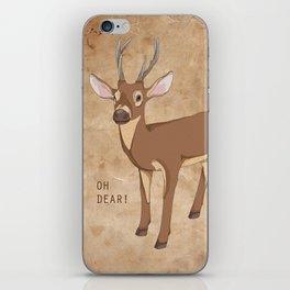 Oh Dear! iPhone Skin