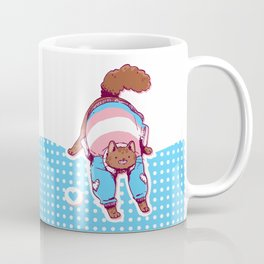 Pride Cats - Transgender Pride Coffee Mug