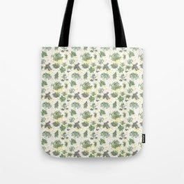 Salad Floral Tote Bag
