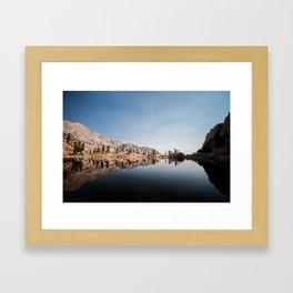 Glossy Waters Framed Art Print
