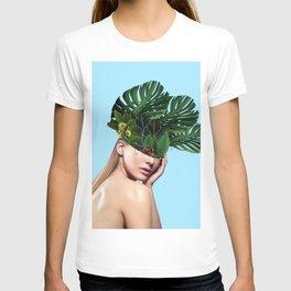 Lady Flowers_Three crowns T-shirt