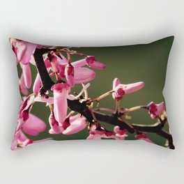 Cercis canadensis 'Forest Pansy' Rectangular Pillow