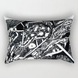 What a Peculiar Apparatus Rectangular Pillow