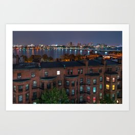 Boston Architecture Art Print