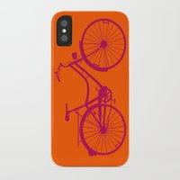 bicycle iPhone & iPod Cases featuring Bicycle by Mr & Mrs Quirynen