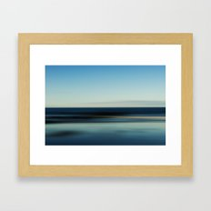 Motion Blur Framed Art Print