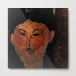 "Amedeo Modigliani ""Beatrice Hastings"" (1915) Metal Print"