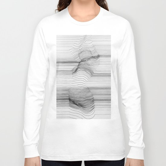 Body Line Long Sleeve T-shirt