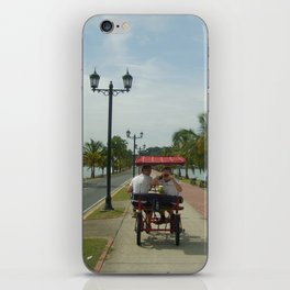 Beach Bike iPhone Skin