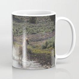 Splashing About At The Waterhole Coffee Mug