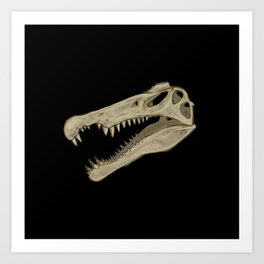 Icons of Africa - Spinosaurus Art Print