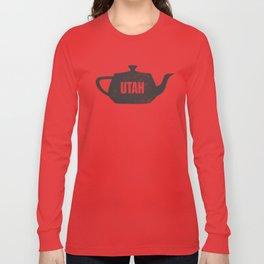 Utah Teapot Long Sleeve T-shirt