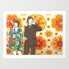 Smokin' Art Print