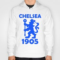 chelsea Hoodies featuring Chelsea 1905 by Sport_Designs