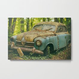 Critically Acclaimed Serious Question Metal Print
