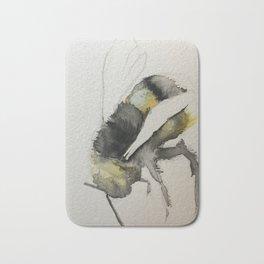 Buzzy Little Bee Bath Mat