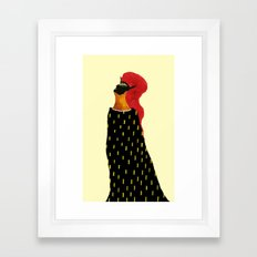 The Emperor  Framed Art Print