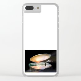 Sun in the shell Clear iPhone Case