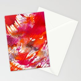 Swooping Abstraction Stationery Cards