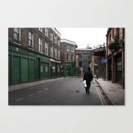 + On park street - London (GBR) Canvas Print