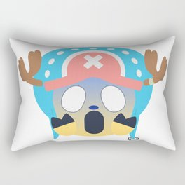 Tony Chopper Emoji Design Rectangular Pillow