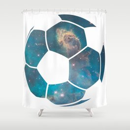 Space ball Shower Curtain