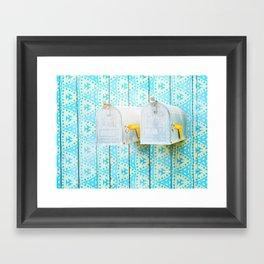 LA mailboxes 3586 Framed Art Print