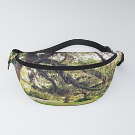 Live Oak Tree with Spanish Moss Fanny Pack