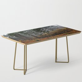 Misty Forrest Coffee Table
