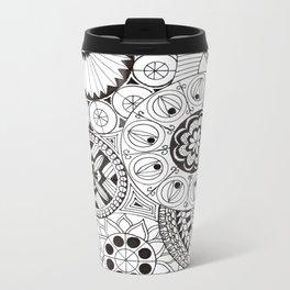 Circles Metal Travel Mug