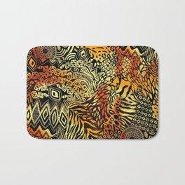 Africa style pattern Bath Mat