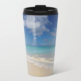 Antigua & Barbuda - White Sand & Turquoise Water - Panoramic Travel Mug