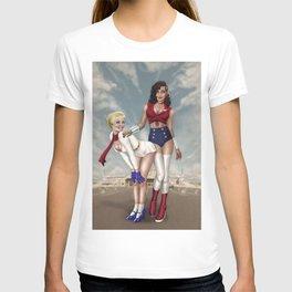 DC Women pinups T-shirt