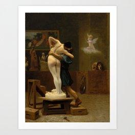 Jean-Leon Gerome  - Pygmalion and Galatea Art Print