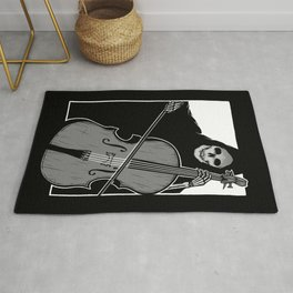 Symphony of Death (Cello) Rug