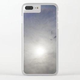 sun halo Clear iPhone Case