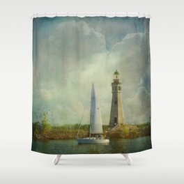 Guided by Love Shower Curtain