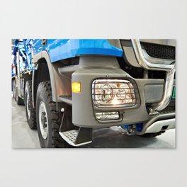Modern large truck Canvas Print