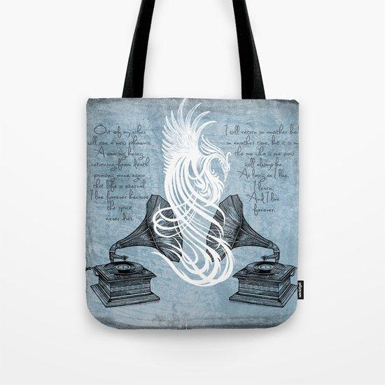 The Phoenix Rises Tote Bag